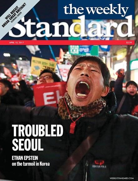 Washington Examiner Cover - 4/10/2017
