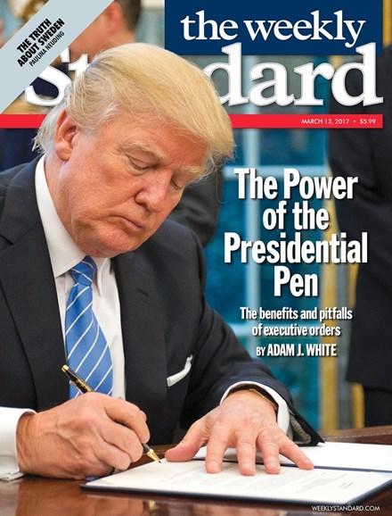 Washington Examiner Cover - 3/13/2017