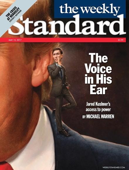 Washington Examiner Cover - 5/15/2017