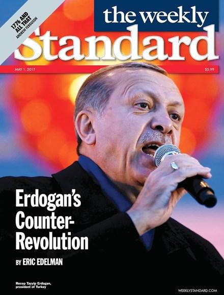 Washington Examiner Cover - 5/1/2017