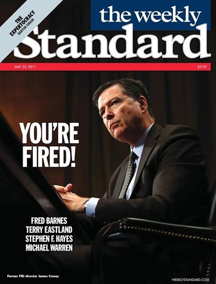 Washington Examiner Cover - 5/22/2017