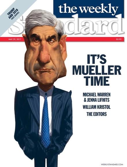 Washington Examiner Cover - 5/29/2017