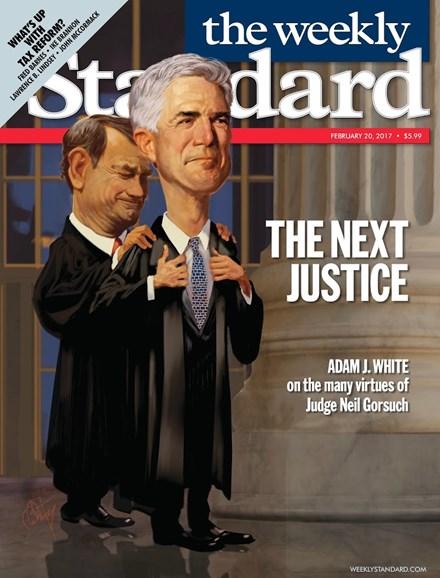 Washington Examiner Cover - 2/20/2017