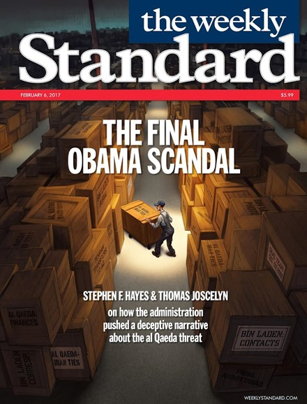 Washington Examiner Cover - 2/6/2017