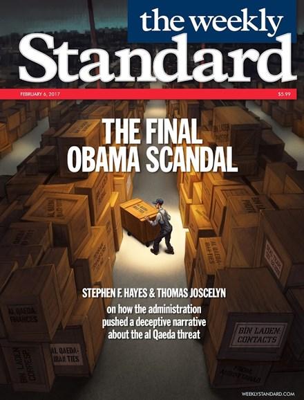Washington Examiner Cover - 2/6/2017