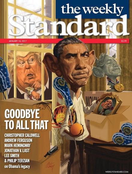 Washington Examiner Cover - 1/16/2017