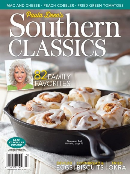 Cooking With Paula Deen Cover - 4/1/2017