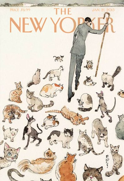 The New Yorker Cover - 1/21/2013