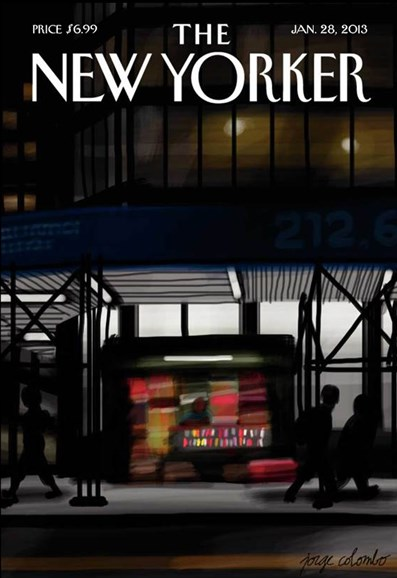 The New Yorker Cover - 1/28/2013