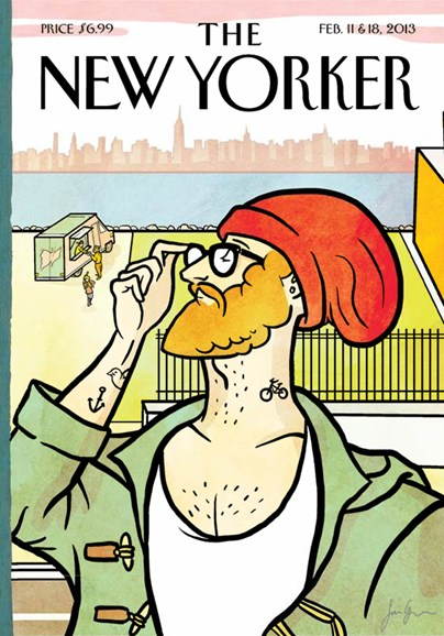 The New Yorker Cover - 2/11/2013