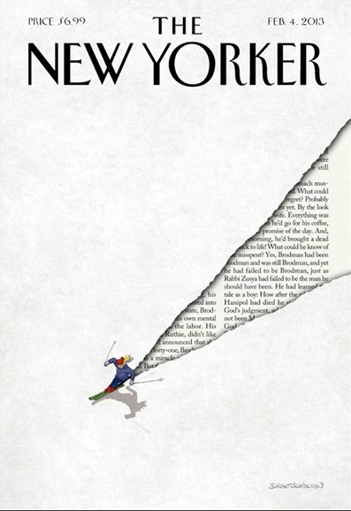 The New Yorker Cover - 2/4/2013