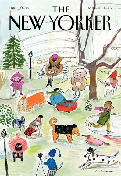 The New Yorker Cover - 3/18/2013