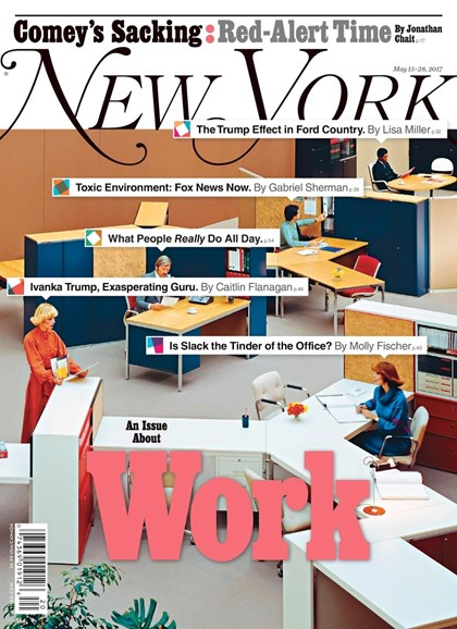 New York Magazine Cover - 5/15/2017