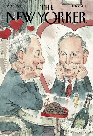 The New Yorker Cover - 2/7/2011