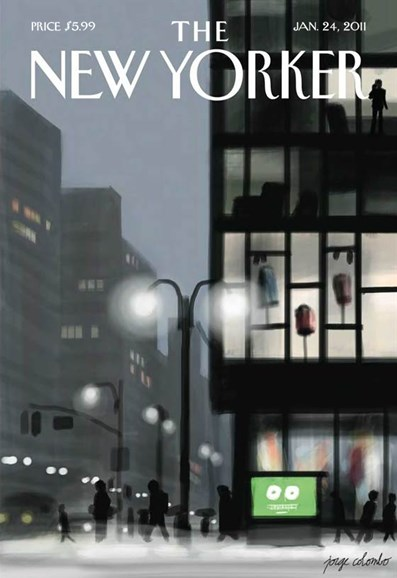 The New Yorker Cover - 1/24/2011