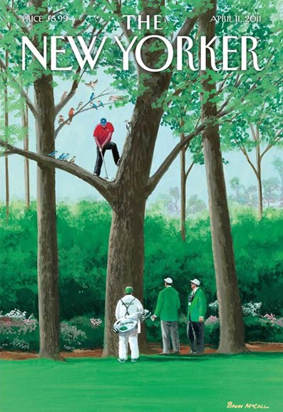 The New Yorker Cover - 4/11/2011