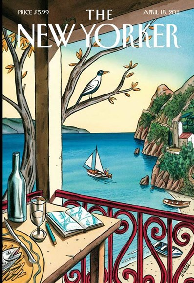 The New Yorker Cover - 4/18/2011