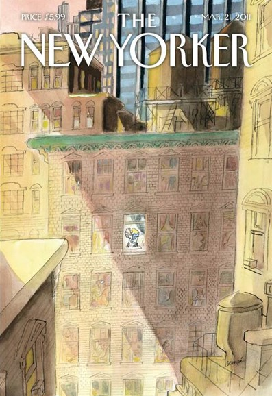 The New Yorker Cover - 3/21/2011