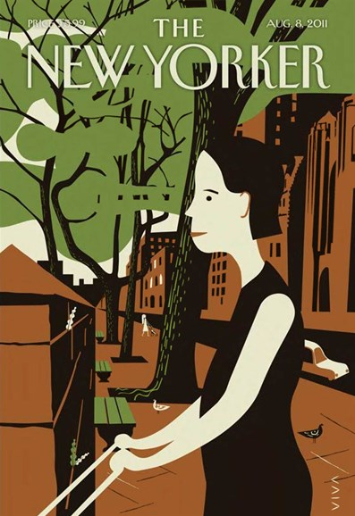 The New Yorker Cover - 8/8/2011