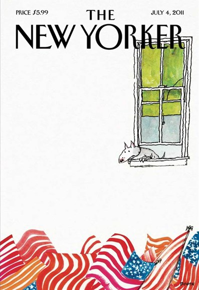 The New Yorker Cover - 7/4/2011