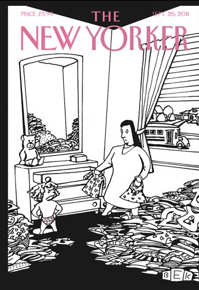 The New Yorker Cover - 9/26/2011