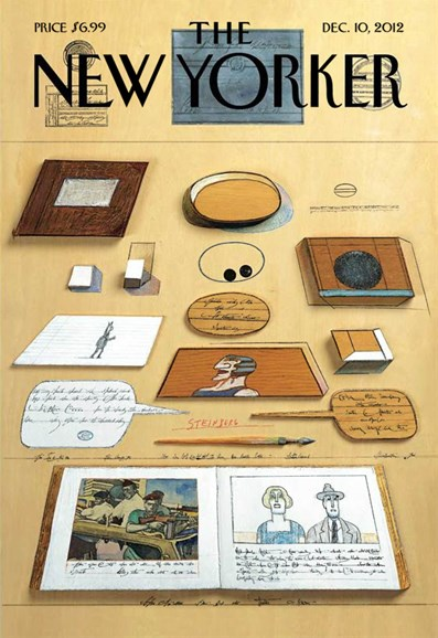 The New Yorker Cover - 12/10/2012