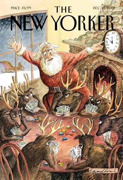 The New Yorker Cover - 12/17/2012