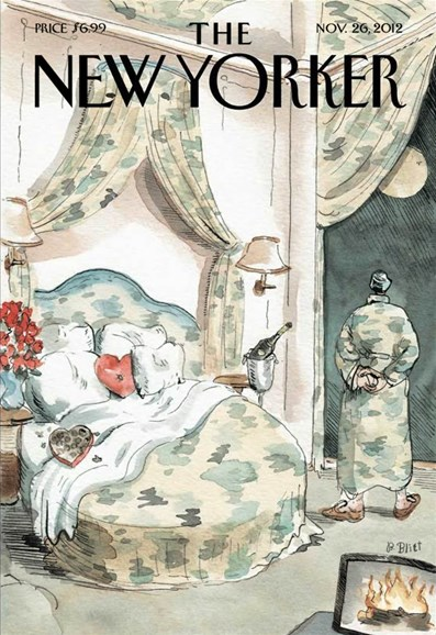 The New Yorker Cover - 11/26/2012
