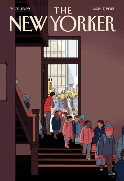 The New Yorker Cover - 1/7/2013