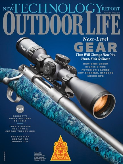 Outdoor Life Cover - 2/1/2017