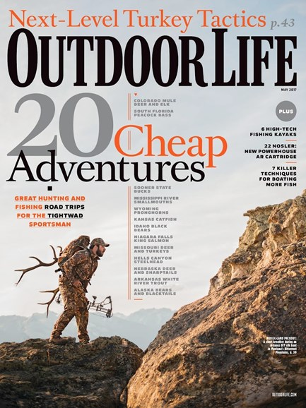 Outdoor Life Cover - 5/1/2017