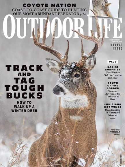Outdoor Life Cover - 12/1/2016