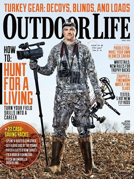 Outdoor Life Cover - 4/1/2015