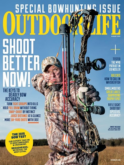 Outdoor Life Cover - 8/1/2015