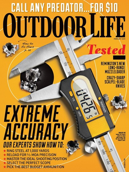 Outdoor Life Cover - 2/1/2015