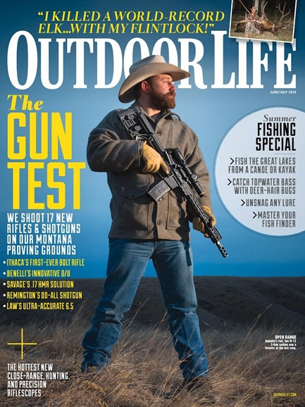 Outdoor Life Cover - 6/1/2015