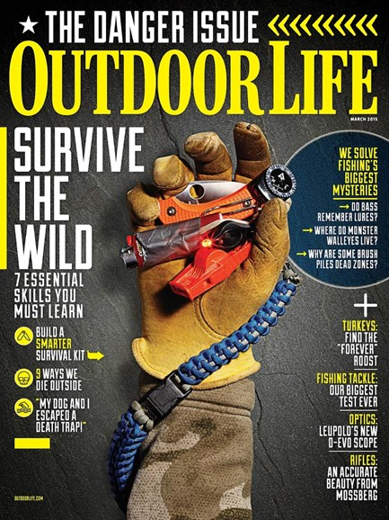 Outdoor Life Cover - 3/15/2015