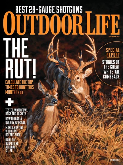 Outdoor Life Cover - 11/1/2015