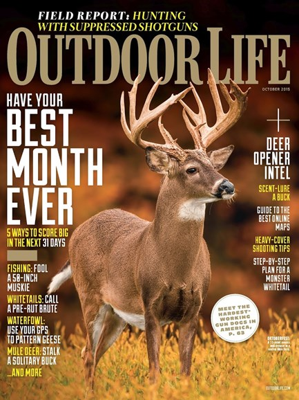 Outdoor Life Cover - 10/1/2015