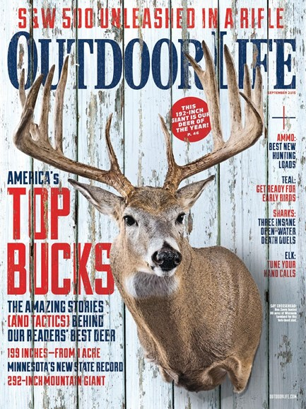 Outdoor Life Cover - 9/1/2015