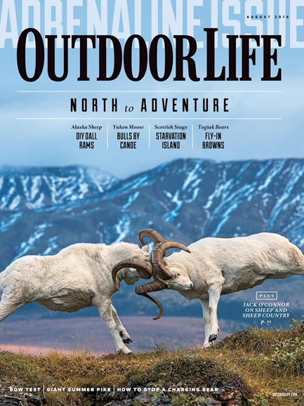 Outdoor Life Cover - 8/1/2016