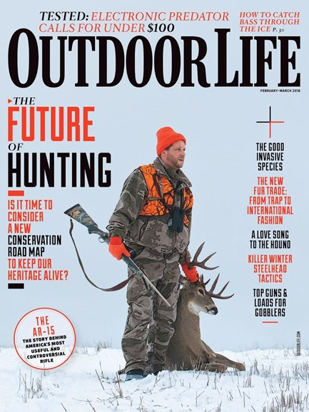 Outdoor Life Cover - 2/1/2016
