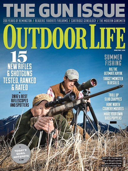 Outdoor Life Cover - 6/1/2016