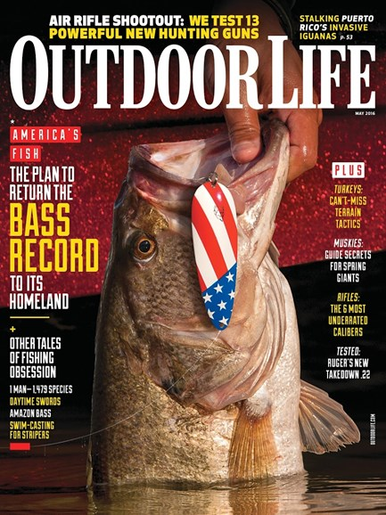 Outdoor Life Cover - 5/1/2016