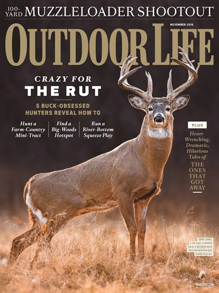 Outdoor Life Cover - 11/1/2016