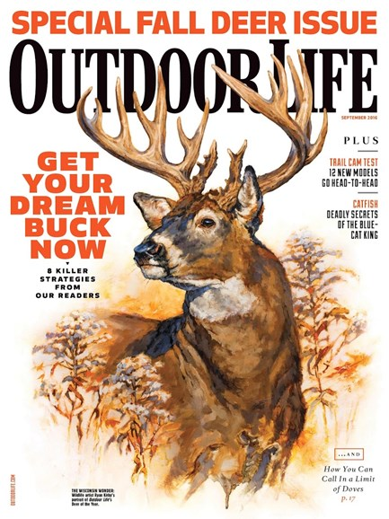 Outdoor Life Cover - 9/1/2016