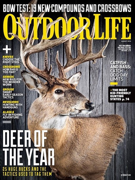 Outdoor Life Cover - 8/1/2014