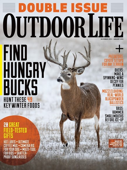 Outdoor Life Cover - 12/1/2014