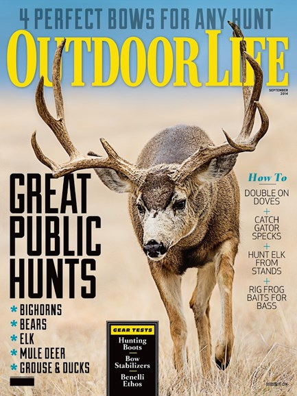 Outdoor Life Cover - 9/1/2014