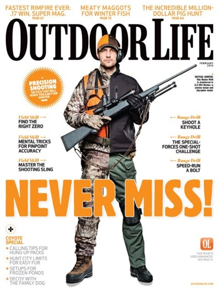 Outdoor Life Cover - 2/1/2013